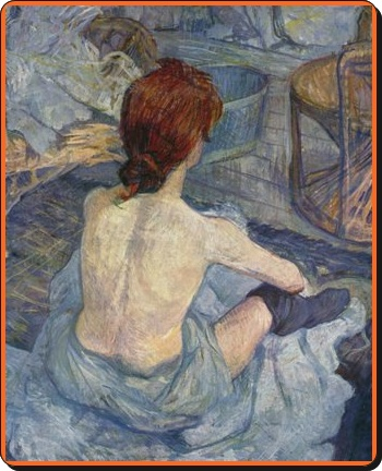 Feminitate in pictura lui Toulouse Lautrec