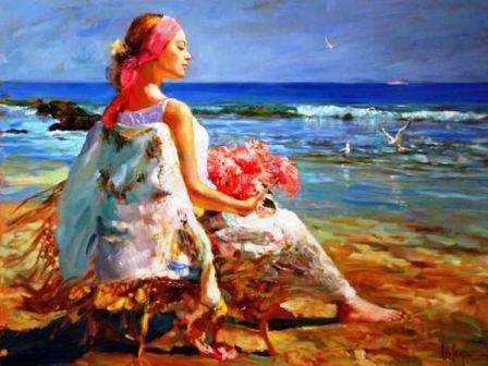 Lectii de pictura cu Vladimir Volegov